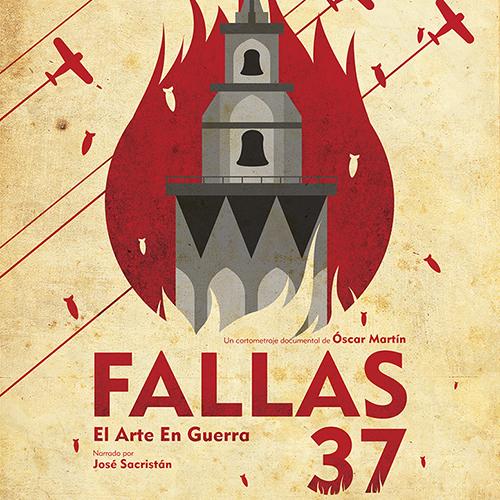 FALLAS 37 cartel cuadrado