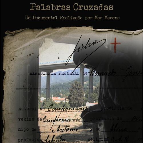 PALABRAS CRUZADAS cartel cuadrado