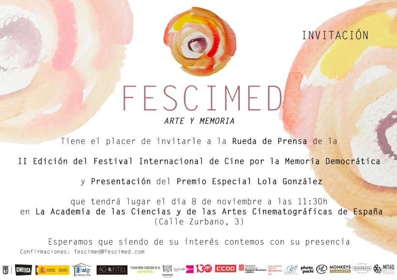 invitaciónRdPFESCIMED