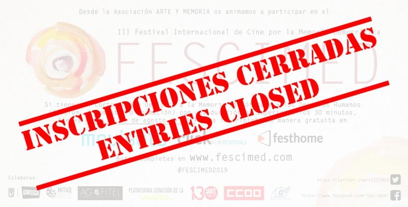 BANNER FESCIMED CONCURSO 2019 CERRADO