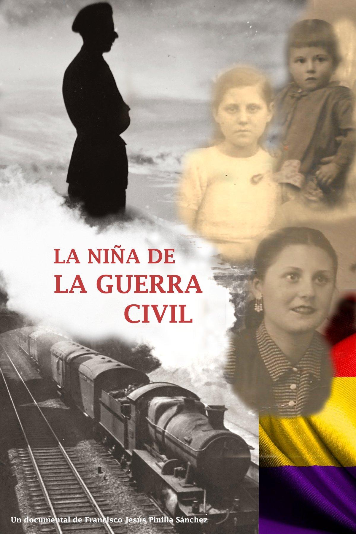 La niña de la guerra civil (cartel)